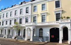 Classic London living if only I could afford it on a street like this :)