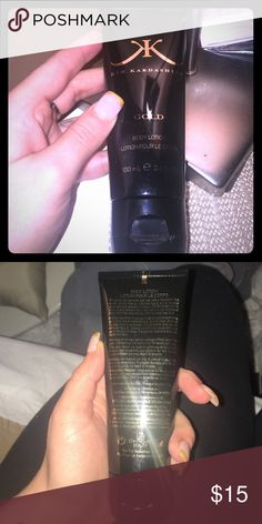 """🛑🛑 FINAL PRICE✴️ Kim K """"Gold"""" body lotion Smells awesome NWOT Kim K Other"""