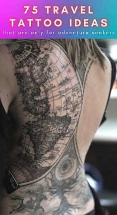 When people think about travel tattoos, the first things that come to mind are maps and airplanes. It's what every traveler gets done. However, these people prove that there are all sorts of other creative ways to cover these various travel themes without just doing the same old designs that everyone else does. From outdoor nature scenes to beautiful cityscapes, these are 75 travel tattoo ideas for those who love seeking adventure.