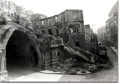 1945. Az Alagút Krisztina felőli bejárata, Old Pictures, Old Photos, D Day, Budapest Hungary, Vintage Photography, Historical Photos, Time Travel, Wwii, Abandoned