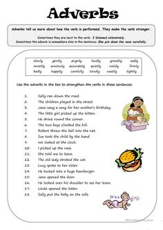 13 Adverbs Worksheet Adverbs Bã i Tập The youngsters can enjoy Number Worksheets, Math Worksheets, Alphabet Worksheets. English Grammar Exercises, English Grammar Worksheets, 2nd Grade Worksheets, Learn English Grammar, Grammar Lessons, English Lessons, English Vocabulary, Printable Worksheets, Money Worksheets