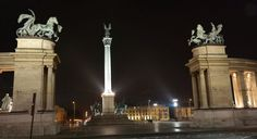 Heroes Square in Budapest by destinationfun3M.deviantart.com on @DeviantArt