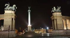Heroes Square in Budapest by destinationfun3M.deviantart.com on @DeviantArt
