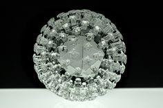 Glass model of papilloma virus | Luke Jerram