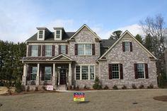 Fayetteville, GA - Haddonstone- New Construction- Peachtree City, GA #Haddonstone - #kitchen #granite #beautiful #redwineroad #fayetteville #georgia #peachtreecity #fayette #homedecor
