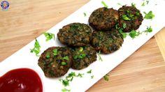 Hara Bhara Kabab - Kabab Recipe - Starter Recipe By Ruchi Bharani