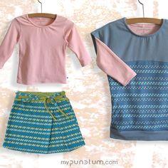 Wir lieben diese Varianten und zeigen sie euch einfach nochmal!  www.mypunctum.com Baby Kind, Short Dresses, Women, Fashion, Fall Winter, Simple, Kleding, Short Gowns, Moda