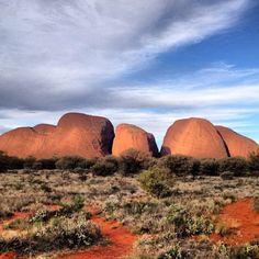 Kata Tjuta #Australia  by gordon_reid (instagram)