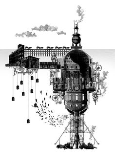 The Reef of Silence Underwater Columbarium & Decompositorium Narrative Collage 420 x 594(mm) Yunil Nam, Unit 18, MArch Architecture Part II, University of Greenwich