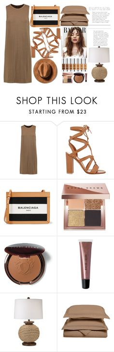 """Untitled #276"" by dragansabina ❤ liked on Polyvore featuring Enza Costa, Gianvito Rossi, Balenciaga, Bobbi Brown Cosmetics, Pacific Coast and Superior"