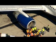 Jet Hits Birds, Makes Emergency Landing Bird Strike, How To Know, Illinois, Thursday Afternoon, Allegiant, International Airport, Jets, Airplanes, Landing