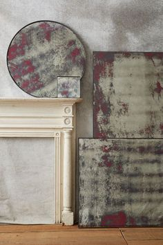 color washed mirror #anthrofave