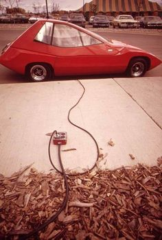 1970s electric car — ESB/Exide Battery Sundancer.