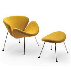 orange slices chair