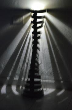 estructura con luz