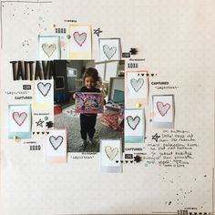 Aaaand another #scrapbook #layout. Love that my love for paper has returned! #scrapbooking #skräppäys #memorykeeping #craftyninarsku