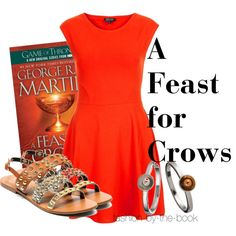 """a feast for crows"" by wishingadream on Polyvore"