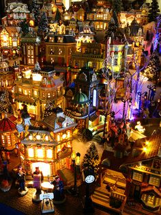 Central Shopping District, 2009 Christmas Village by Mastery of Maps, via Flickr
