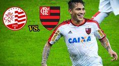 Paolo Guerrero titular: Flamengo vs Náutico EN VIVO online por Copa de Brasil. July 15, 2015.