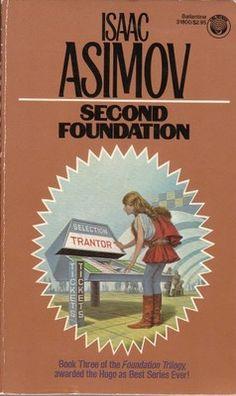 Isaac Asimov Second Foundation Vintage Science Fiction Sci Fi PB Ballentine 0345318005 | eBay