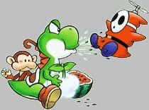 Yoshi spitting seeds at Shy Guy- Game & Watch Gallery 3 Nintendo World, Shy Guy, Game Info, Game & Watch, Donkey Kong, Sober, Super Mario, Yoshi, Seeds