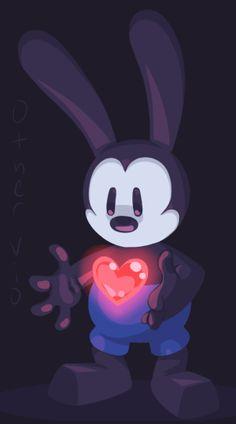 Oswald by on DeviantArt Disney Day, Disney Fan Art, Disney Pixar, Cute Disney Drawings, Cute Animal Drawings, Wallpaper Animes, Disney Wallpaper, Rabbit Wallpaper, Mickey Mouse Images