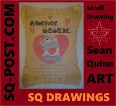 "This is the scroll drawing by the at-home artist ""Sean Quinn"" called ""You Brighten Every Day"". Draw Your, Brighton, Artsy, Drawings, Day, Sketches, Sketch, Drawing, Portrait"