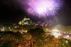 Fireworks, Easter in Greece.one day