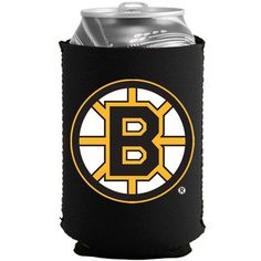 Boston Bruins Black Collapsible Can Cooler