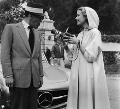 Frank Sinatra and Grace Kelly. She was the embodiment of her name.