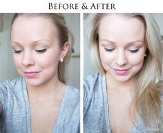 Beauty tip by blogger Jonnamaista: start with the eyebrow poder, finish with the transparent eyebrow fixing gel. See the lovely before and after photos! #brows #lumene