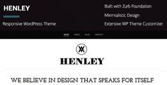 Henley - Wordpress Portfolio/Blogging Theme