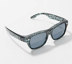 You'll be flirting with fashion when you fit these floral sunglasses right over your everyday frames. From Foster Grant. Fit Over Sunglasses, Prescription Glasses Frames, Lilac Blossom, Pastel Floral, Flirting, The Fosters, Floral Design, Fitness, Style