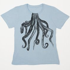Octopus Tee Women's, $22, now featured on Fab.