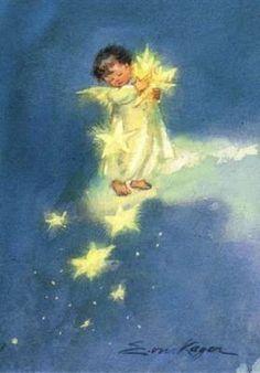 Erica von Kager - Engelchen mit Sternen