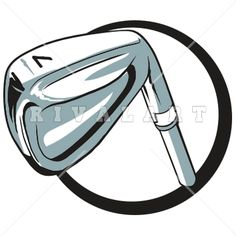 Sports Clipart Image of A Golf Club Graphic Vector Clipart, Clipart Images, Golf Clip Art, Golf Clubs, Sports, Hs Sports, Sport