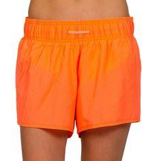 Women's Jockey Sport Air Woven Running Shorts, Brt Orange