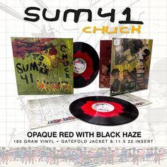 "Sum 41 ""Chuck"" Opaque Red With Black Haze LP Available now! Single 180 Gram • Gatefold Jacket • 11 x 22 Insert  #srcvinyl #sum41 #chuck  #vinyl #vinylrecords #vinylcollective #vinylcollection #vinylcollector #vinylcommunity #record #records #recordstore #recordcollection #recordcollector #turntable #recordplayer #limitededition #colouredvinyl #music #instagram #instagood #instamusic #instavinyl #redvinyl #availablenow #instock #lp #sum41chuck #OpaqueRedWithBlackHaze #srchifi…"