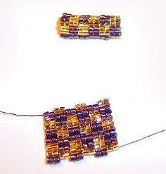 Two-Drop Peyote Beaded Beads