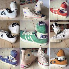 Blog再開 | American Vintage Converse Vintage, Vintage Shoes, Converse Chuck Taylor, Indigo, High Top Sneakers, Denim, American, Style, Closet
