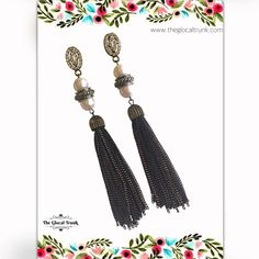 Tassel loving at #theglocaltrunk ✨ #shopnow  www.theglocaltrunk.com #tasselearrings #costumejewellery #onlinestore #deliveredtoyou #alloverindia #instajewellery #instajewelrygroup #onlineshopper #imitationjewellery #jewellerygram #jewellerystore #onlineshopping
