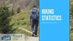 Outdoor recreation statistics - hiking statistics Snowboarding, Skiing, Ice Climbing, Hiking Tips, Outdoor Recreation, One In A Million, Statistics, Water Sports, Rafting
