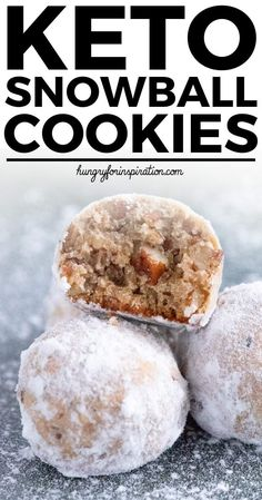 Love you, Mother. These Heavenly Keto Pecan Snowball Cookies are perfect Keto Christmas Cookies! They're incredibly good and will be the perfect addition to your holidays! And one cookie only has net carbs! Keto Foods, Ketogenic Recipes, Keto Snacks, Keto Recipes, Sweets Recipes, Low Carb Sweets, Low Carb Desserts, Galletas Keto, Aperitivos Keto
