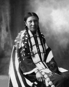 Alice Lone Bear, Yanktonia Sioux.