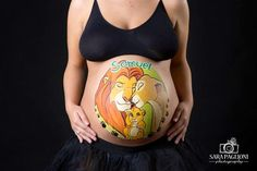 Soul Body Art: Belly Painting