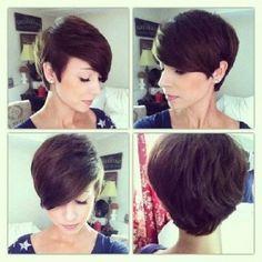 26 #coiffures pour améliorer votre belle ovale en forme de visage...