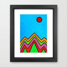 New Day #3 Framed Art Print by Erin Jordan - $38.00