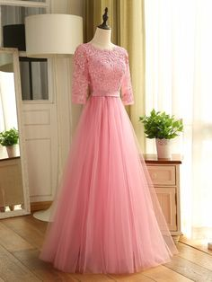 Half Sleeves Mother Of The Bride Dress With Lace & amazing Mother of the Bride Dresses Gown Party Wear, Party Wear Indian Dresses, Designer Party Wear Dresses, Indian Gowns Dresses, Dress Indian Style, Indian Fashion Dresses, Fancy Dress Design, Stylish Dress Designs, Designs For Dresses