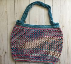 A personal favorite from my Etsy shop https://www.etsy.com/listing/523302551/rainbow-beach-tote-crochet-tote-bag
