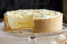 Lemon Ripple Cheesecake Recipe - Taste.com.au